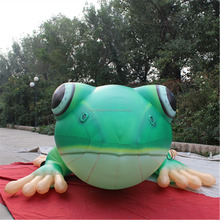 Factory price giant inflatable frog model,inflatable animal cartoon for advertising to sale