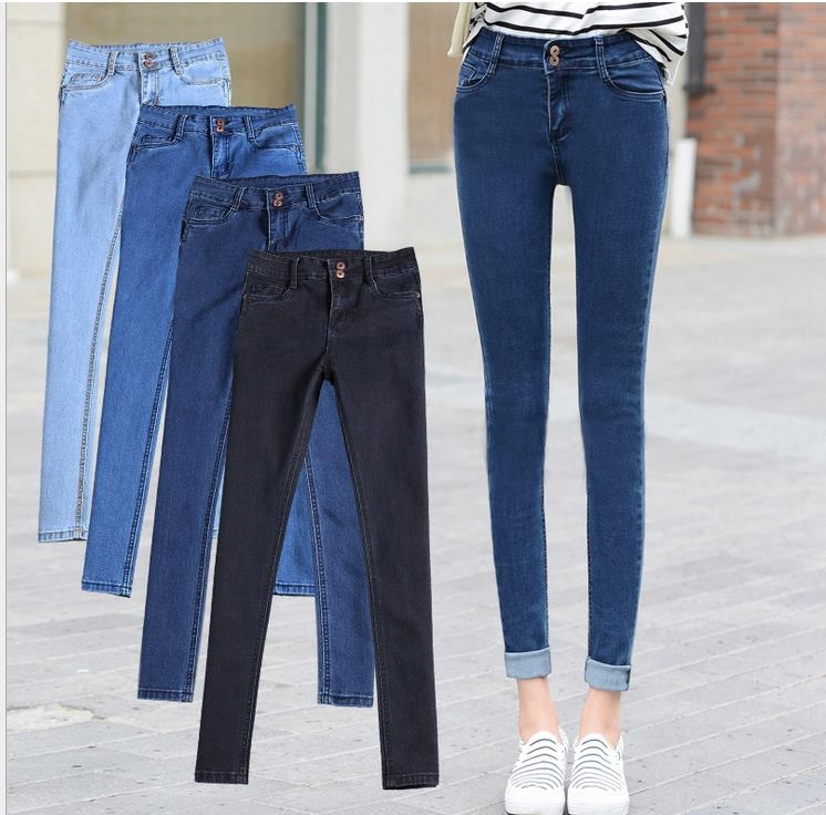 Hot New Products 2016 Women Denim Pants Las Lifting Fashion Jeans