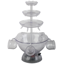 plastic red wine fountain party wine fountain machine