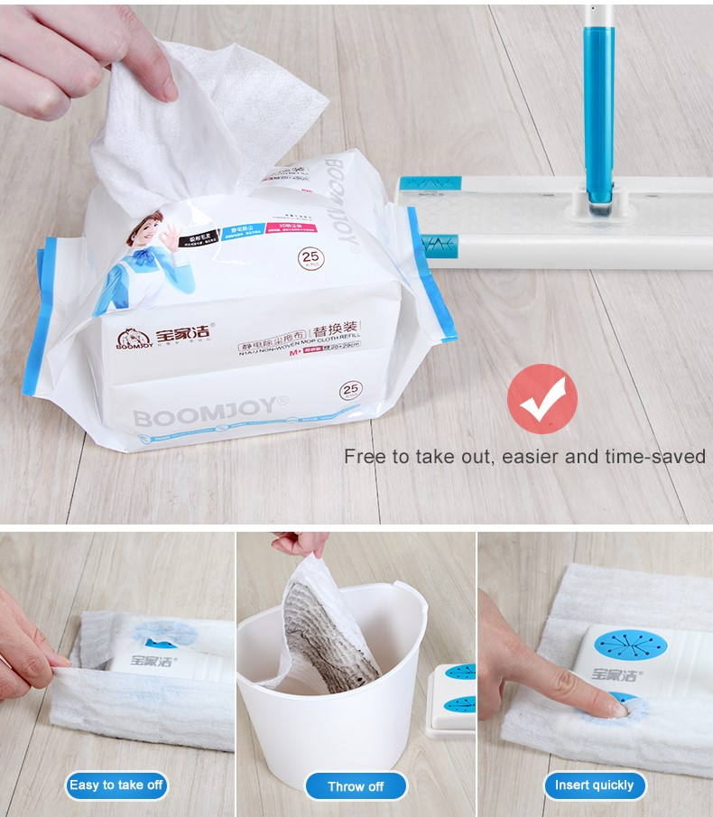 Sweeper Cleaner Dry And Wet Mop Kit For Cleaning Hardwood