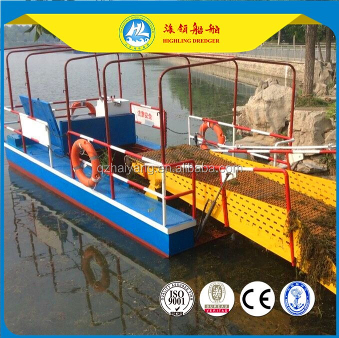 Fully automatic water hyacinth harvester