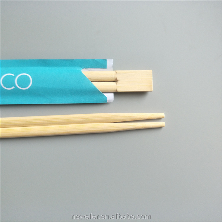 Promotional lovely kid chopsticks in 80 gsm sleeve