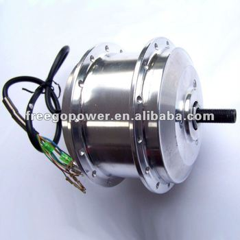 24v 250w electric bicycle geared wheel brushless hub motor for Geared brushless dc motor