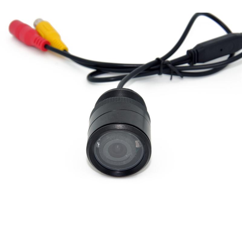 28 мм HD CCD камера заднего вида заднего вида парковка широкоугольный водонепроницаемый универсальный hd-автопарк обратного резервную камеру