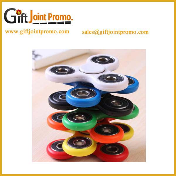 Newly design metal ball bearing Tri-spinners fidget