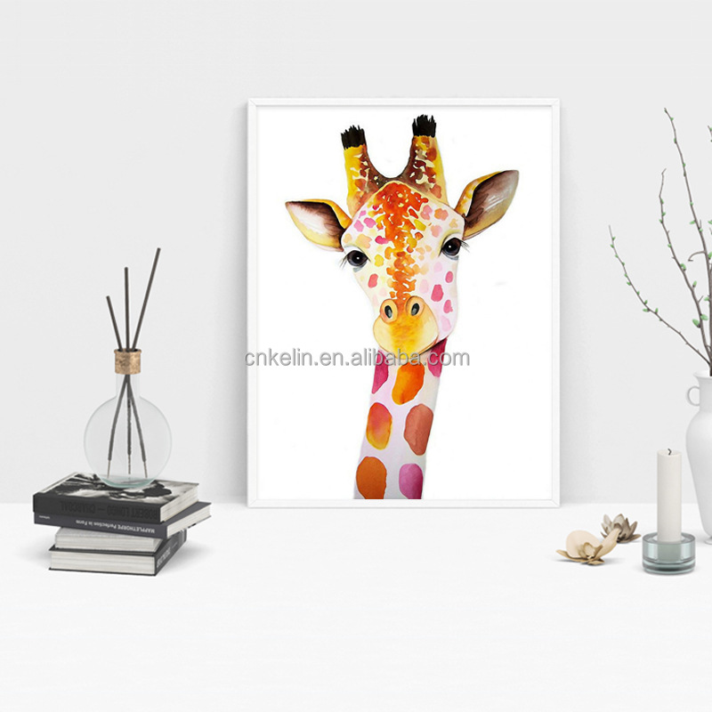 Factory wholesale animal color deer handicraft acrylic diy crystal 5d diamond painting cross stitch embroidery kit