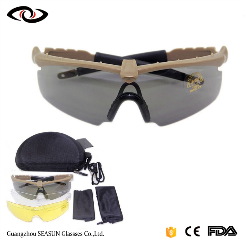 Goggles For Mens War Game Pc Lens Polarized Tactical Sunglasses Army Design Painting Eyewear