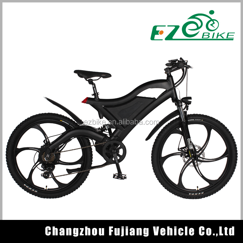26 inch mtb frame 36V li-ion battery mountain electric bike