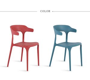 New Model Modern Solid Optional Colors Plastic Restaurant Dining Table Chairs