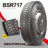 Radial TBR Tyres 225/70r19.5 bsr717 Commerical Truck Tire With Bottom Price