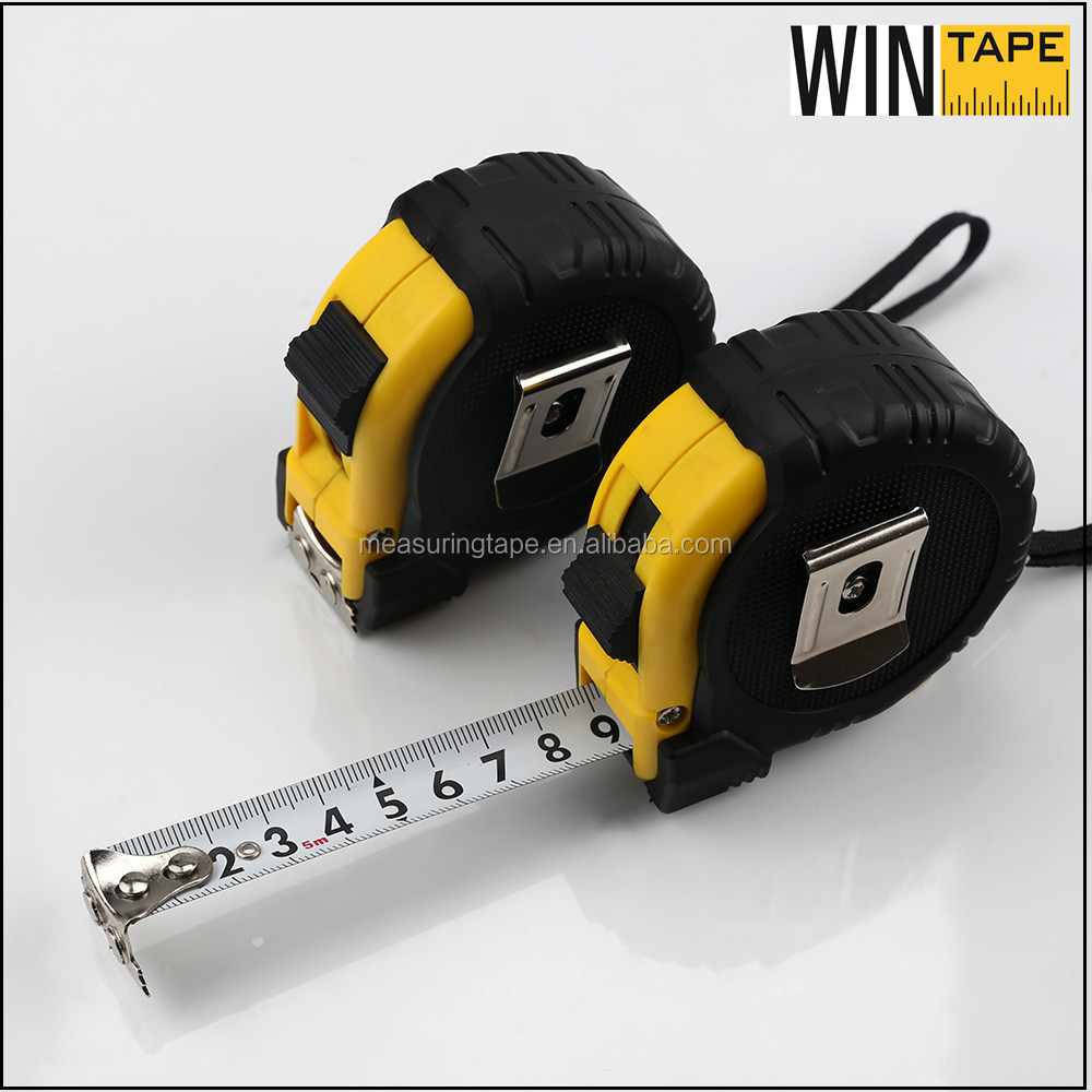 Coating Blade Rubber Covered Carpenter Tape Measure