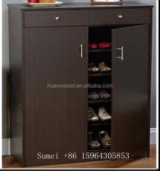Hx Sm 313 Elegant Storage Cabinet 5 Shelf 2 Dresser Drawers Doors