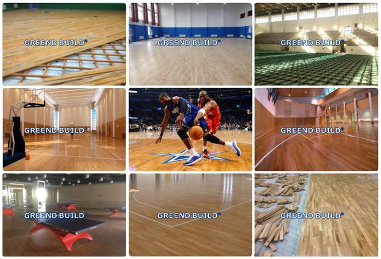 Onvoltooide eiken houten vloeren gebruikt sport vloeren buy