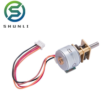 China manufacturer low price micro geared 12 v stepper motor with CE certificate