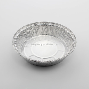 Factory square or oblong whited coated colored seal disposable aluminum foil airline food trays with lid