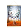 Famous canvas paintings deer 3d diamond painting wall painting