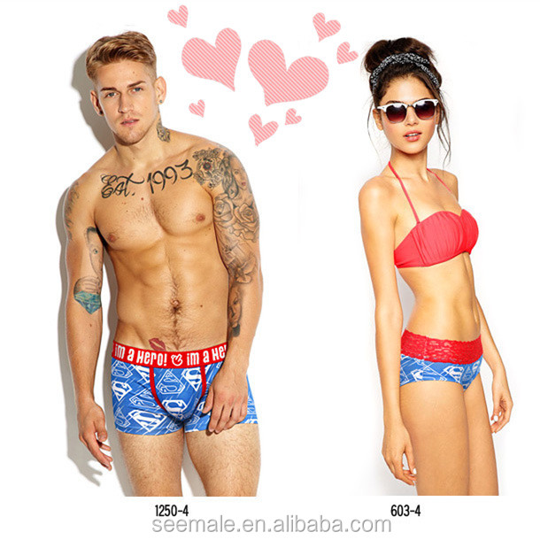 Valentines Boxer Shorts Personalised Property S M L XL XXL