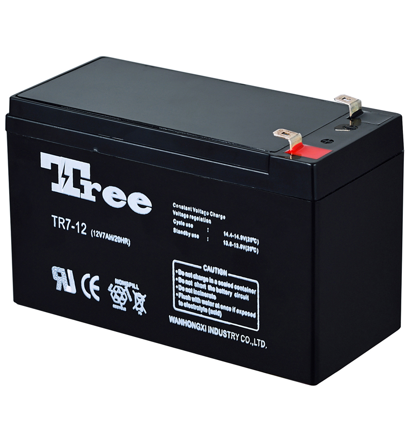CE MSDS sealed rechargeable battery 12v 17ah agm battery