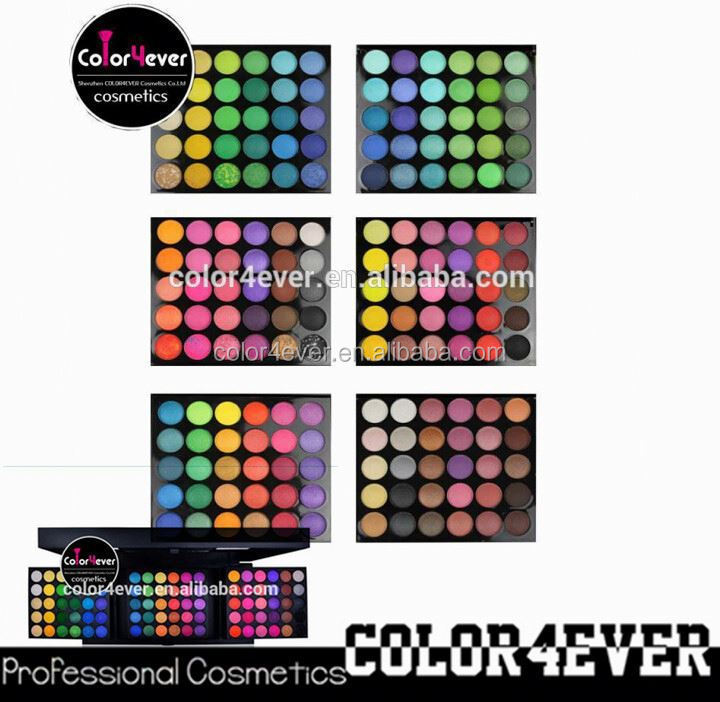 Factory Price New 180 Color Eyeshadow Palette Makeup Wholesale eyeshadow for blue eyes