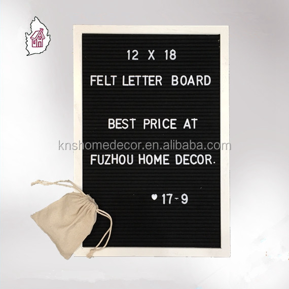 Felt Letter Board Set 10x10-Felt Message Board mit Buchstaben