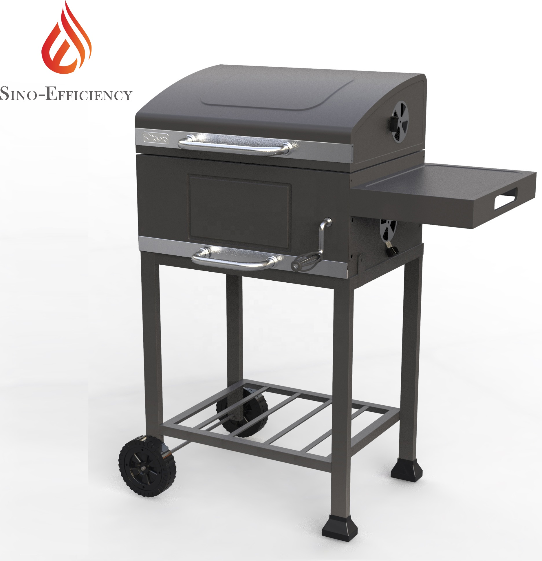 Charcoal Grill Bbq Smoker Grill Outdoor Barbecue Grill ...