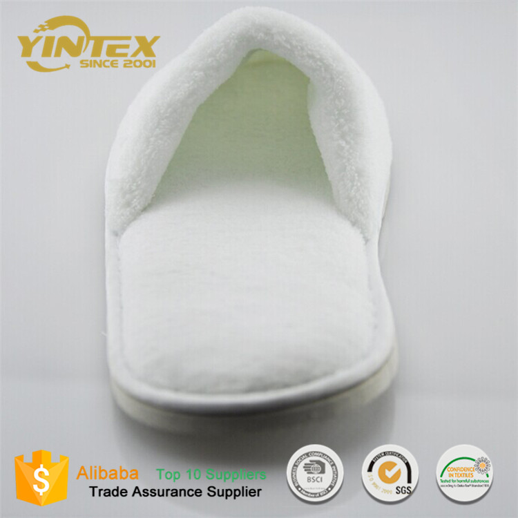 Hotel Sandals Velvet fabric slippers