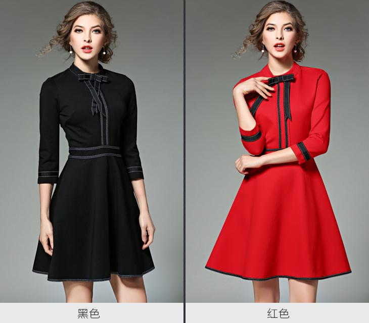 bf008ff961e Новая дамская мода красный рождественское платье 2016 Vestidos Украина  черный для женщин платья для вечеринок зимние платья роковой Дженнер 8867