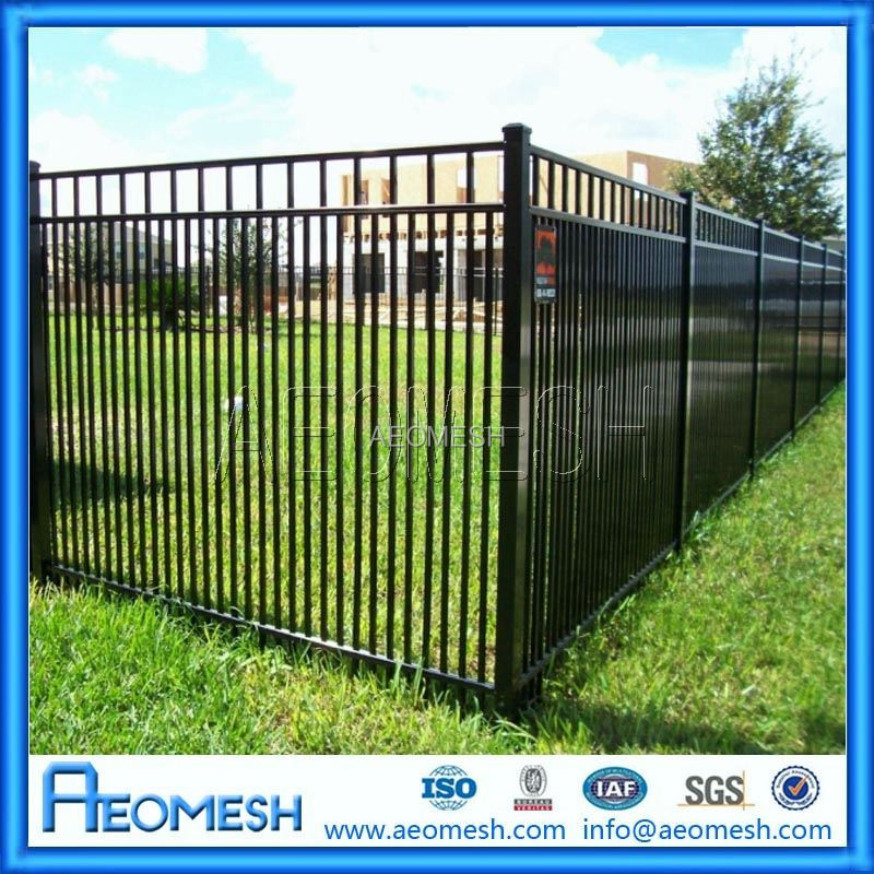 Privacy garden aluminum no dig fence panels