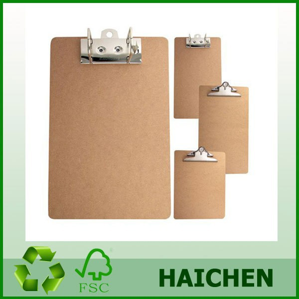 Mdf A4 Wooden Writing Clipboard