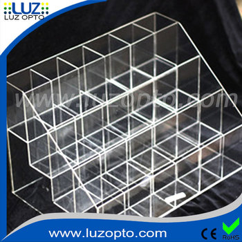 Clear Plastic Storage Box With Dividers Plexiglass Storage Box