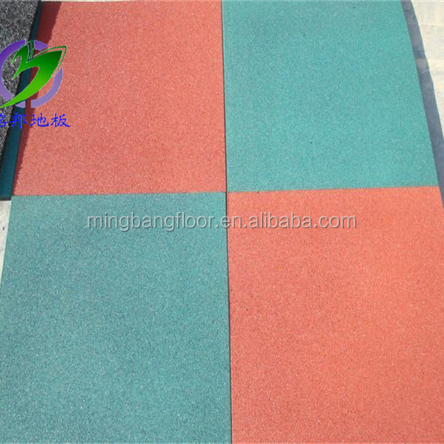Outdoor Playground Kids Play Area Rubber Flooring