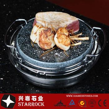 ronde steak steen grill plaat promoties lava stone koken set hot steen grill uitverkoop buy. Black Bedroom Furniture Sets. Home Design Ideas