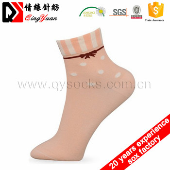 Wholesales custom cotton socks women girl socks socks china