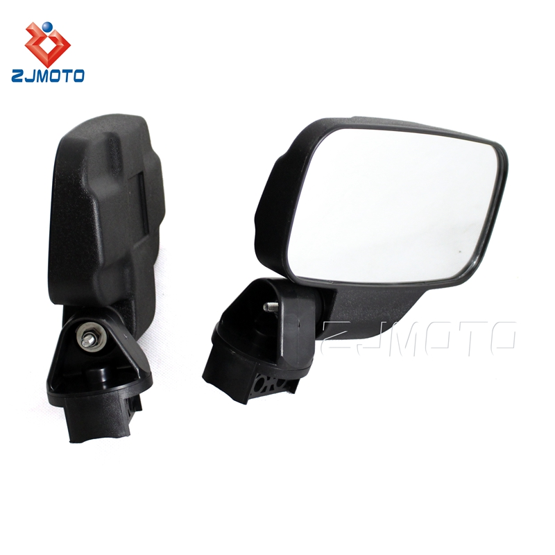 "High Quality Motorcycle Ranger Side View Mirror for All 1.75""/2"" in diameter roll cages Polaris Rangers 2009-2014 RZR"