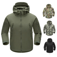 Oem outdoor mens custom logo waterproof softshell coat tactical military soft shell jackets