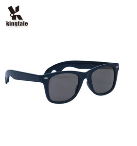 Kingtale Full glare barrier black aviator fashion sunglasses with UV400
