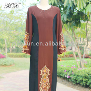 2014 Beatiful Muslim Abaa Islamic Clothing Indian with OEM Design