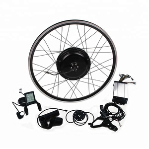cheap 26 inch hot sale easy assemble 72V 2000W brushless e bike electric bicycle conversion kit