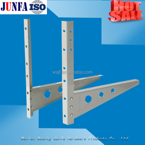OEM wall bracket usage and standard or nonstandard cold rolled steel split air conditioner brackets