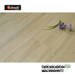Schnell Oak Wooden Pattern Fire Resistance Waterproof Industrial Vinyl Flooring