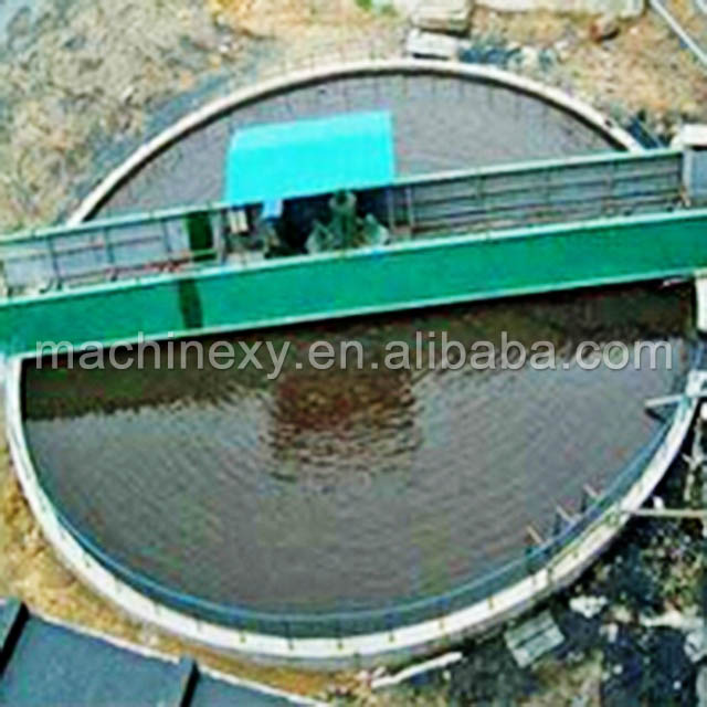 Gold Tailings Processing slurry mining centrifugal thickener tank