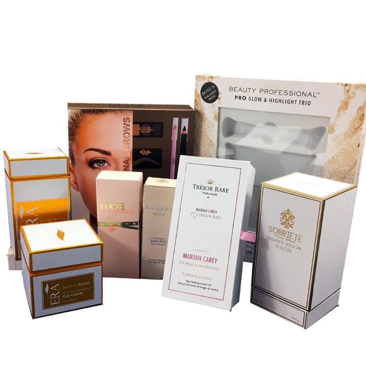 Großhandel Logo Bedruckte verpackung boxen für kosmetische