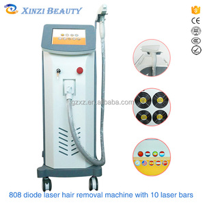 Suitable skin protection measures to guarantee the target tissue enough damage laser hair removal 808nm Machine