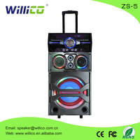 New product trolley pa active rechargeable portable bluetooth speaker