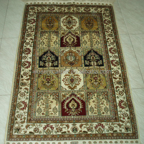 Stock Hand Knotted Silk Rugs