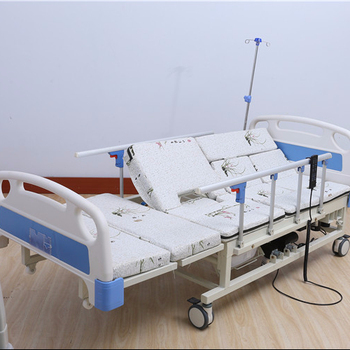 2017 top selling alibaba china Manual medical bed icu Electric Rotating bed with to product the skid Aluminum alloy Side rail