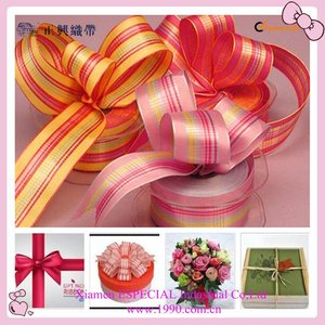 Mothers day gift box with ribbon