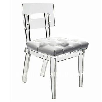 adc 026 clear acrylic modern dining chairs dining room