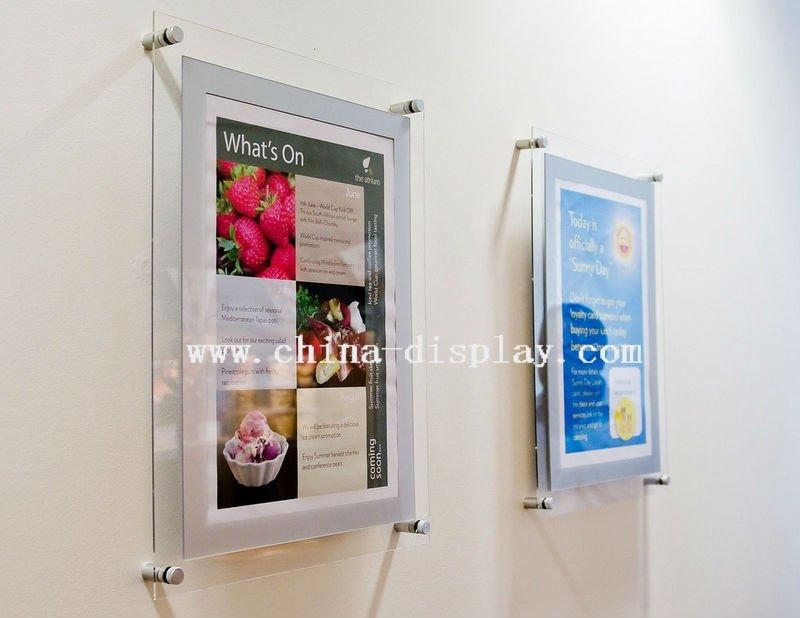 List Manufacturers of Frameless Acrylic Poster Frame, Buy Frameless ...
