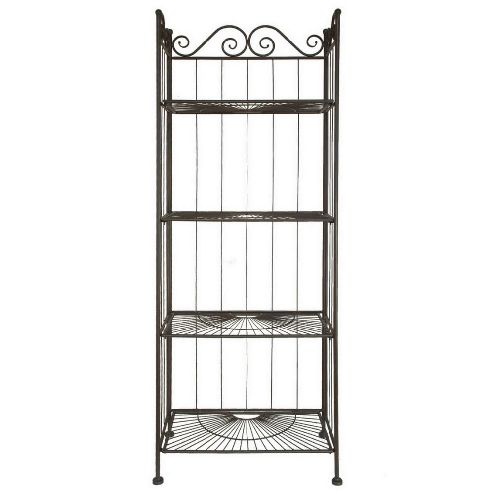"Benzara HRT-25250 25250 59"" Bakers Rack"